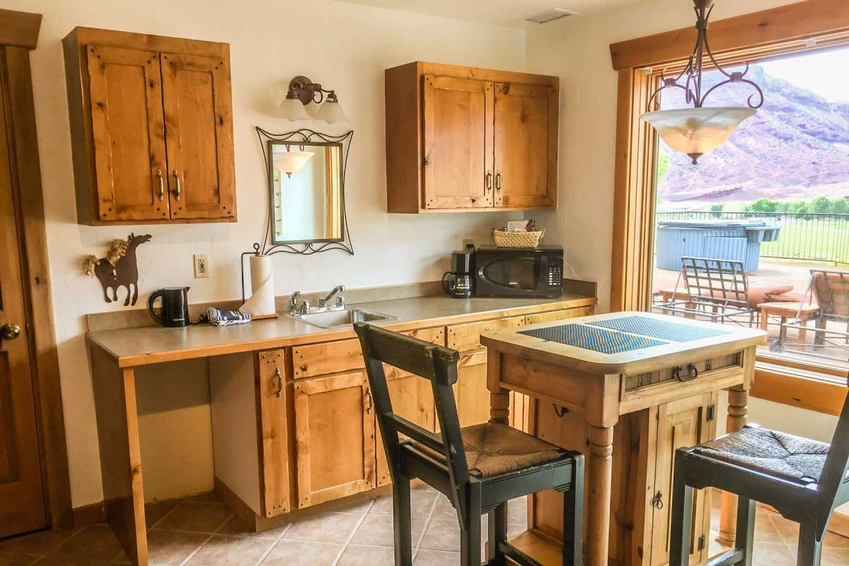 Sorrel River Ranch Property Kitchen