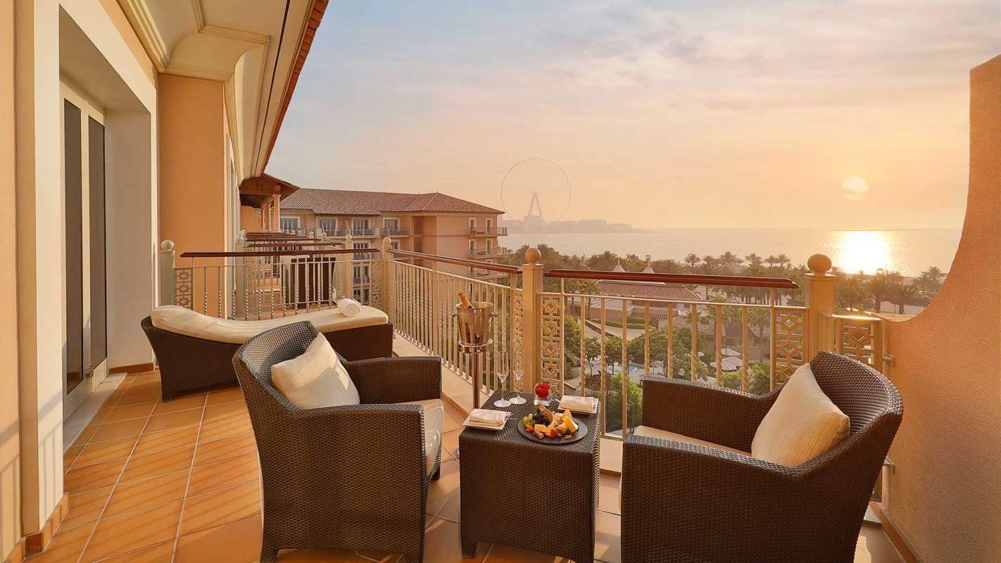 The Ritz Carlton, Shorooq Suite Ausblick